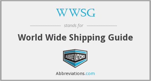 What does WWSG stand for?