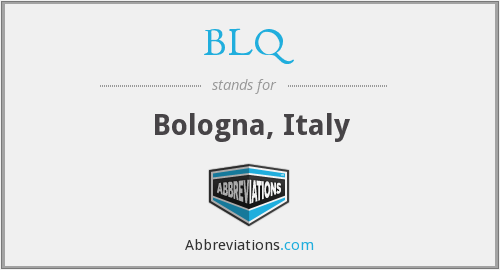 What does BLQ stand for?