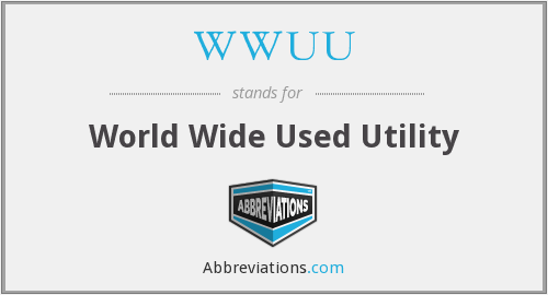 What does WWUU stand for?