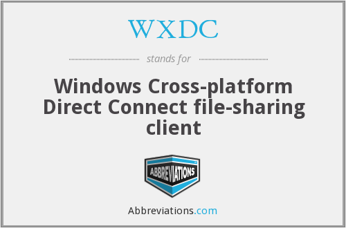 What does WXDC stand for?