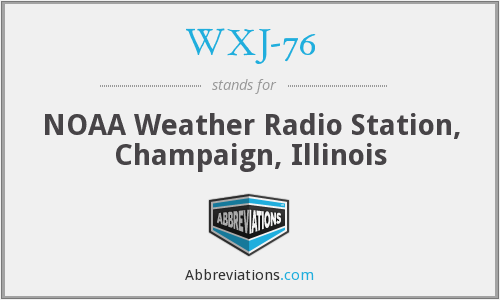 What does WXJ-76 stand for?