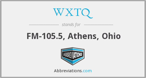 What does WXTQ stand for?