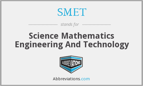 What does SMET stand for?