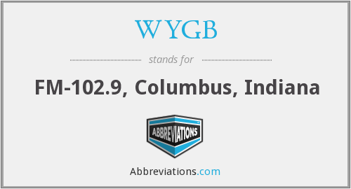 What does WYGB stand for?
