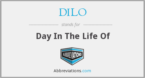 What does DILO stand for?