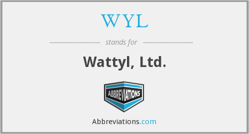 What does WYL stand for?