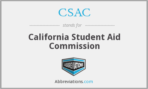 What does CSAC stand for?