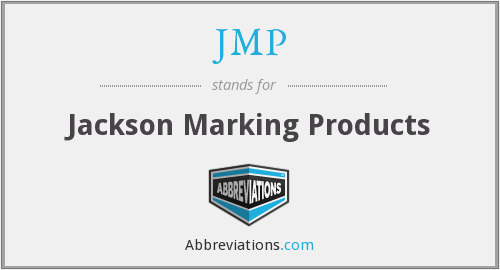 What does JMP stand for?