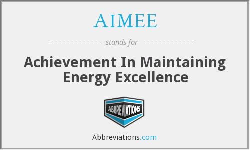 What does AIMEE stand for?