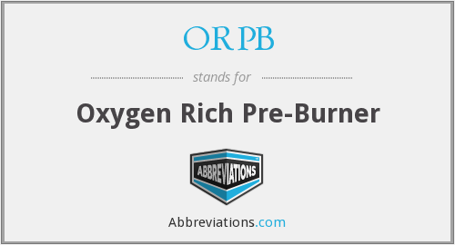 What does ORPB stand for?