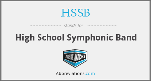 What does HSSB stand for?