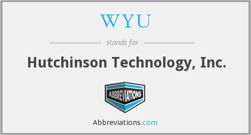 What does WYU stand for?