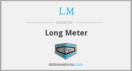 What does LM stand for?