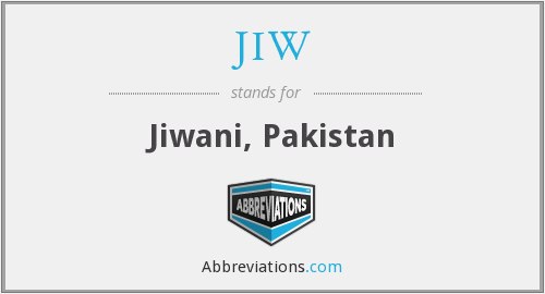 What does JIW stand for?