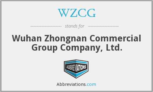What does WZCG stand for?