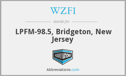 What does WZFI stand for?