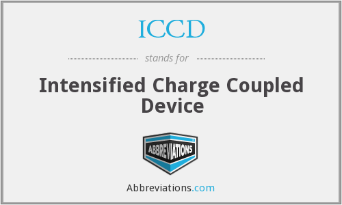 What does ICCD stand for?