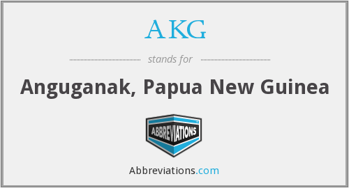 What does AKG stand for?