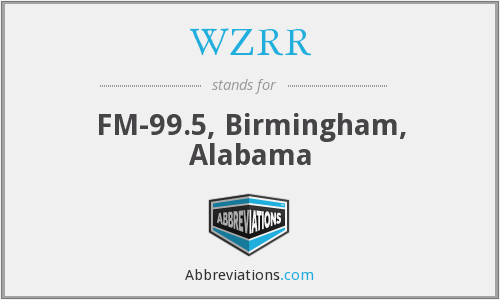 What does WZRR stand for?