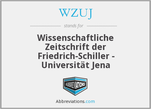 What does WZUJ stand for?