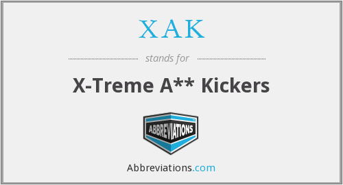 What does XAK stand for?