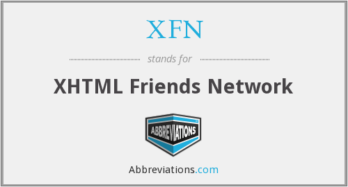 What does XFN stand for?