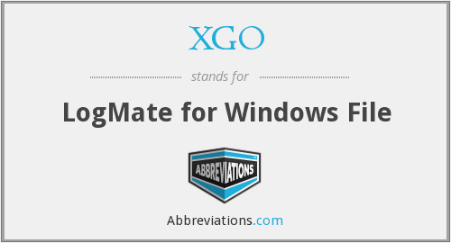 What does XGO stand for?