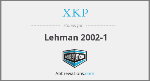 What does XKP stand for?