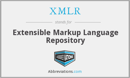 What does XMLR stand for?