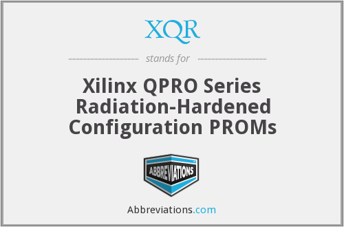 What does XQR stand for?