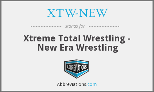 What does XTW-NEW stand for?