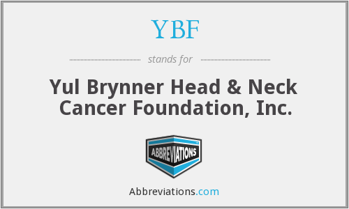 What does YBF stand for?