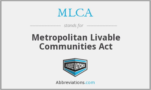 What does MLCA stand for?