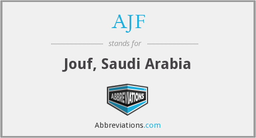 What does AJF stand for?