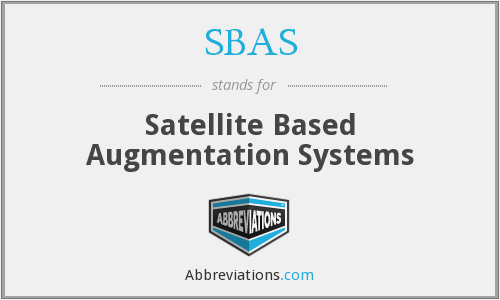 What does SBAS stand for?
