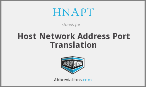 What does HNAPT stand for?