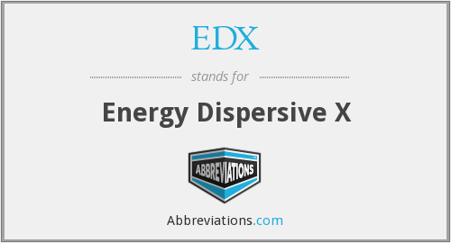 What does EDX stand for?