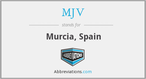 What does MJV stand for?