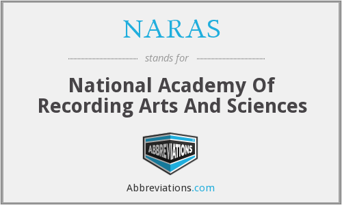 What does NARAS stand for?