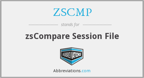 What does ZSCMP stand for?
