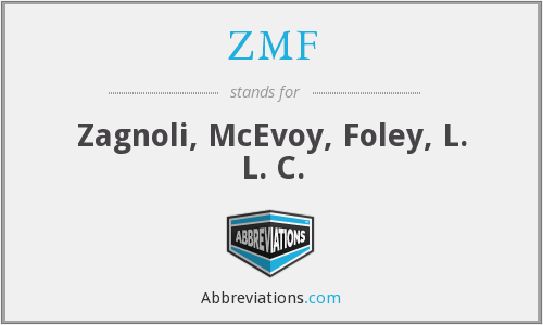 What does ZMF stand for?