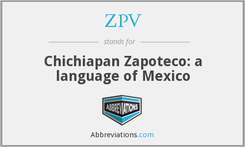 What does ZPV stand for?