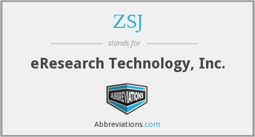 What does ZSJ stand for?