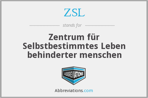 What does ZSL stand for?