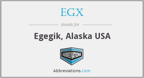 What does EGX stand for?
