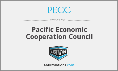 What does PECC stand for?