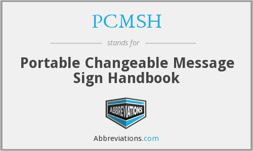 What does PCMSH stand for?
