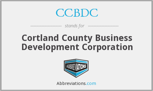 What does CCBDC stand for?