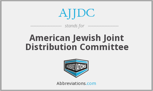 What does AJJDC stand for?