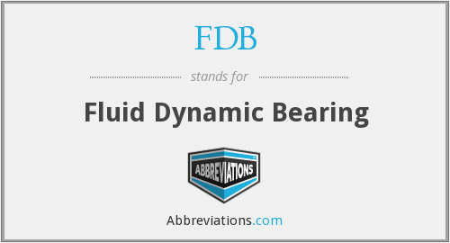 What does FDB stand for?